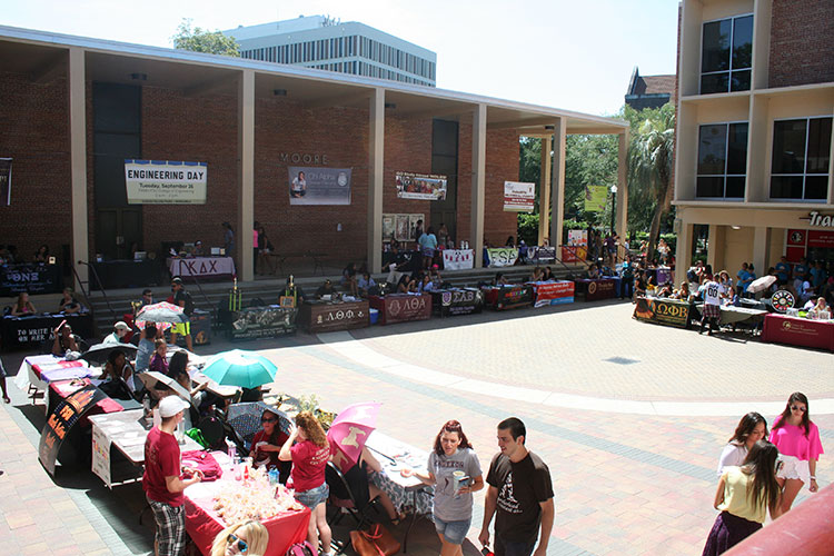 Market Wednesday in the Union Courtyard