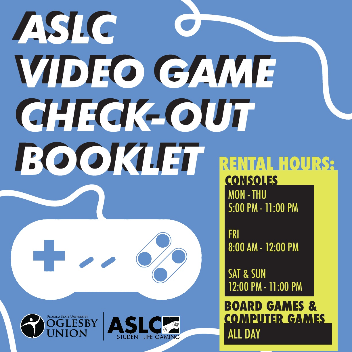 ASLC Student Life Gaming - Cover