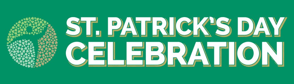 St. Patrick's Day Celebration Banner