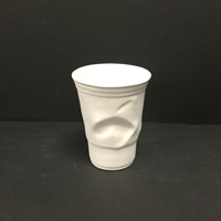 Crinkled Plastic Cup