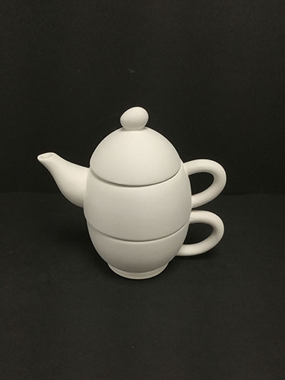 Oval Teapot For One