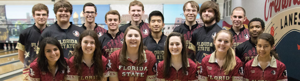 Photo of FSU Men's and Women's Bowling Teams