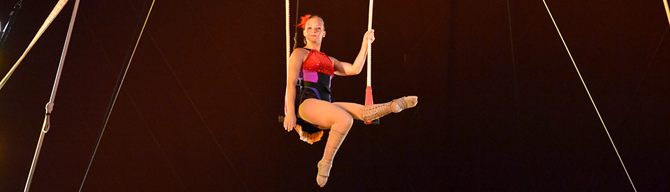 Photo of Flying High Circus performer