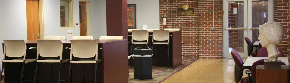 Photo of Guest Services Space