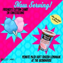 Now serving cotton candy and pink lemonade!