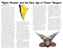 Mighty Morphin and the New Age of Power Rangers, by Jonathan Alves